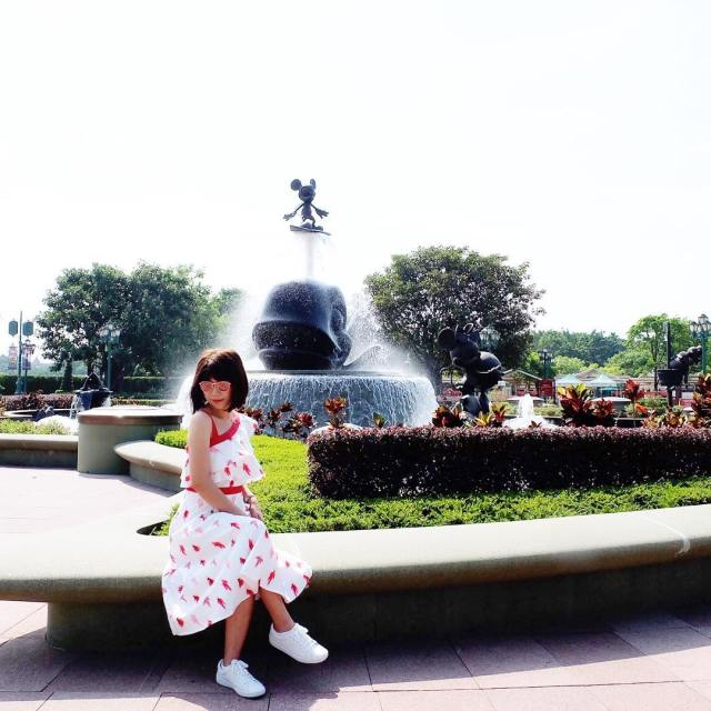 Excited to explore Disneyland wearing my BarbieLovesPlainsAndPrints dress inspired byhellip