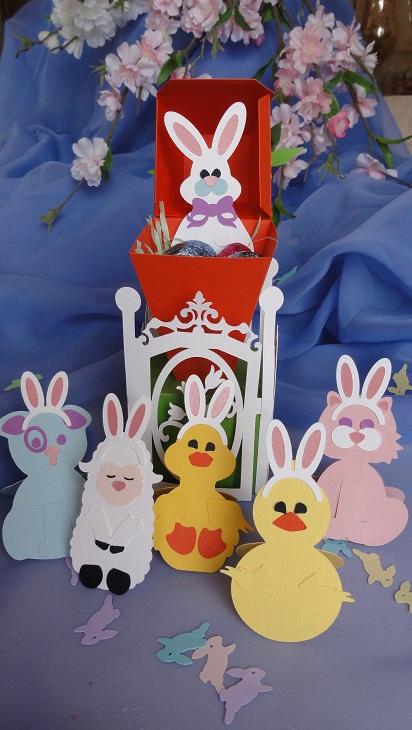 Carrot Easter Box