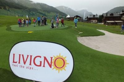 inaugurazione a livigno golf training area4