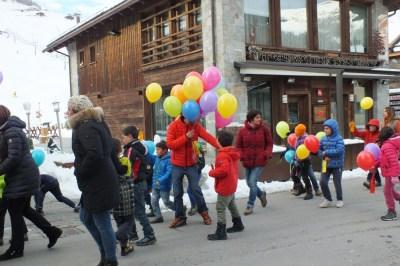 marcia dei bambini livigno