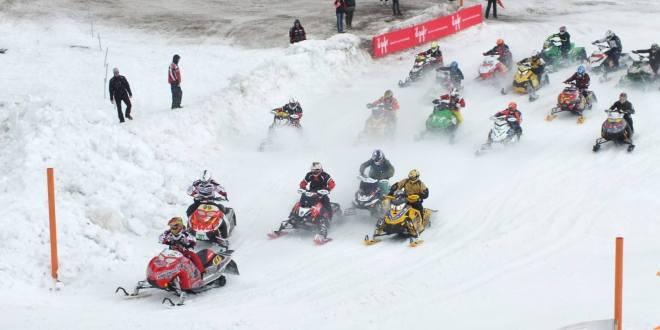 Campionato Motoslitte a Livigno