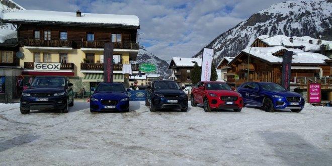 Jaguar Land Rover Winter Tour fino a lunedì 18 febbraio