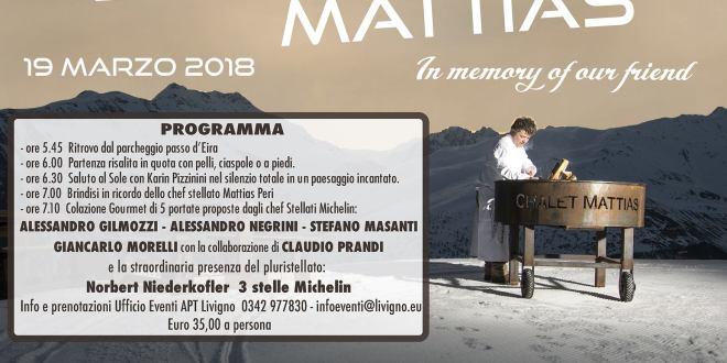 Sunrise Mattias: colazione con le stelle all'alba a Livigno