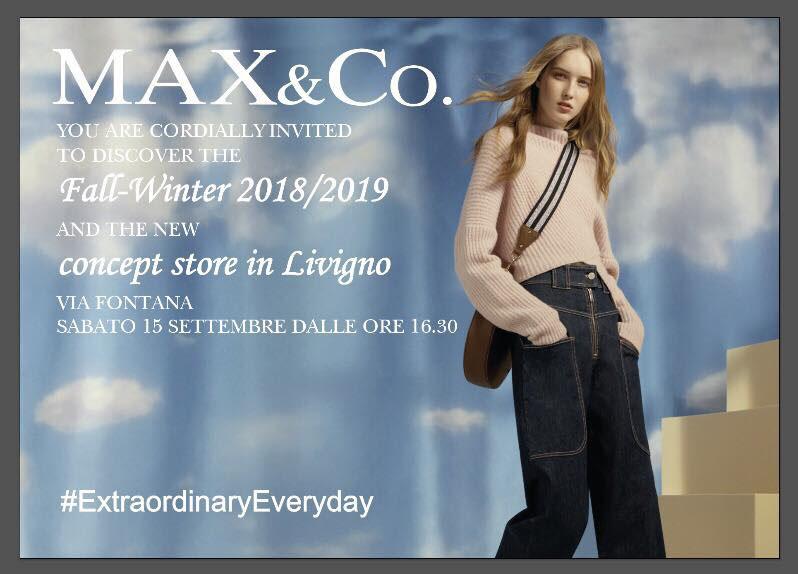 hot sales 2e50c 71042 Cocktail e presentazione nuova collezione MAX&Co. – I Love ...