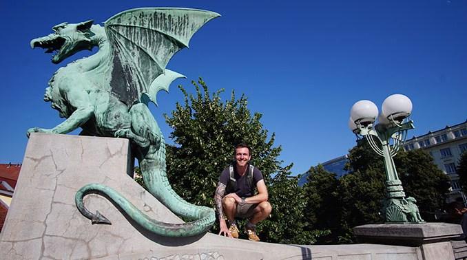 Ljubljana - Drakenbrug - Dragon Bridge