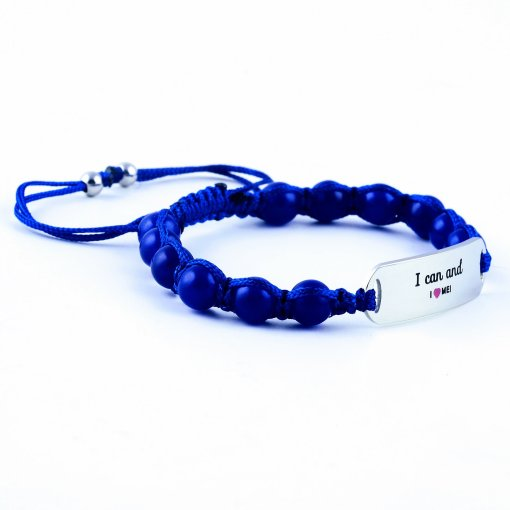 I Can And I Love Me - Marine Blue Lazurite Bracelet