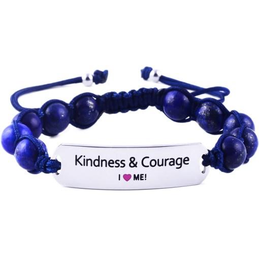 Kindness & Courage - Marine Blue Lazurite Bracelet