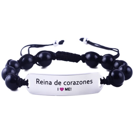 Reina de corazones - Black Onyx Bracelet