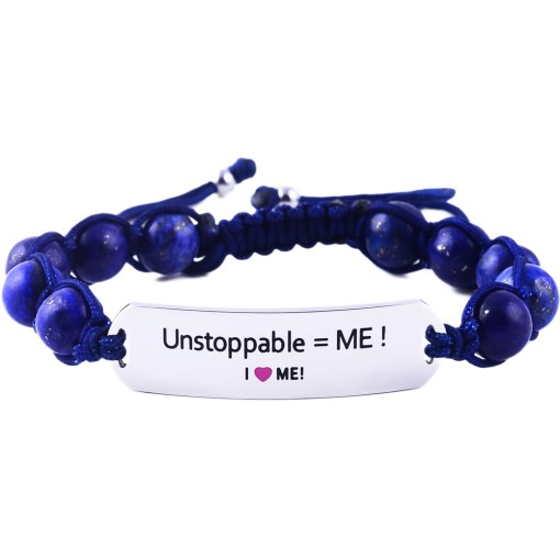 Unstoppable = ME! - Marine Blue Lazurite Bracelet