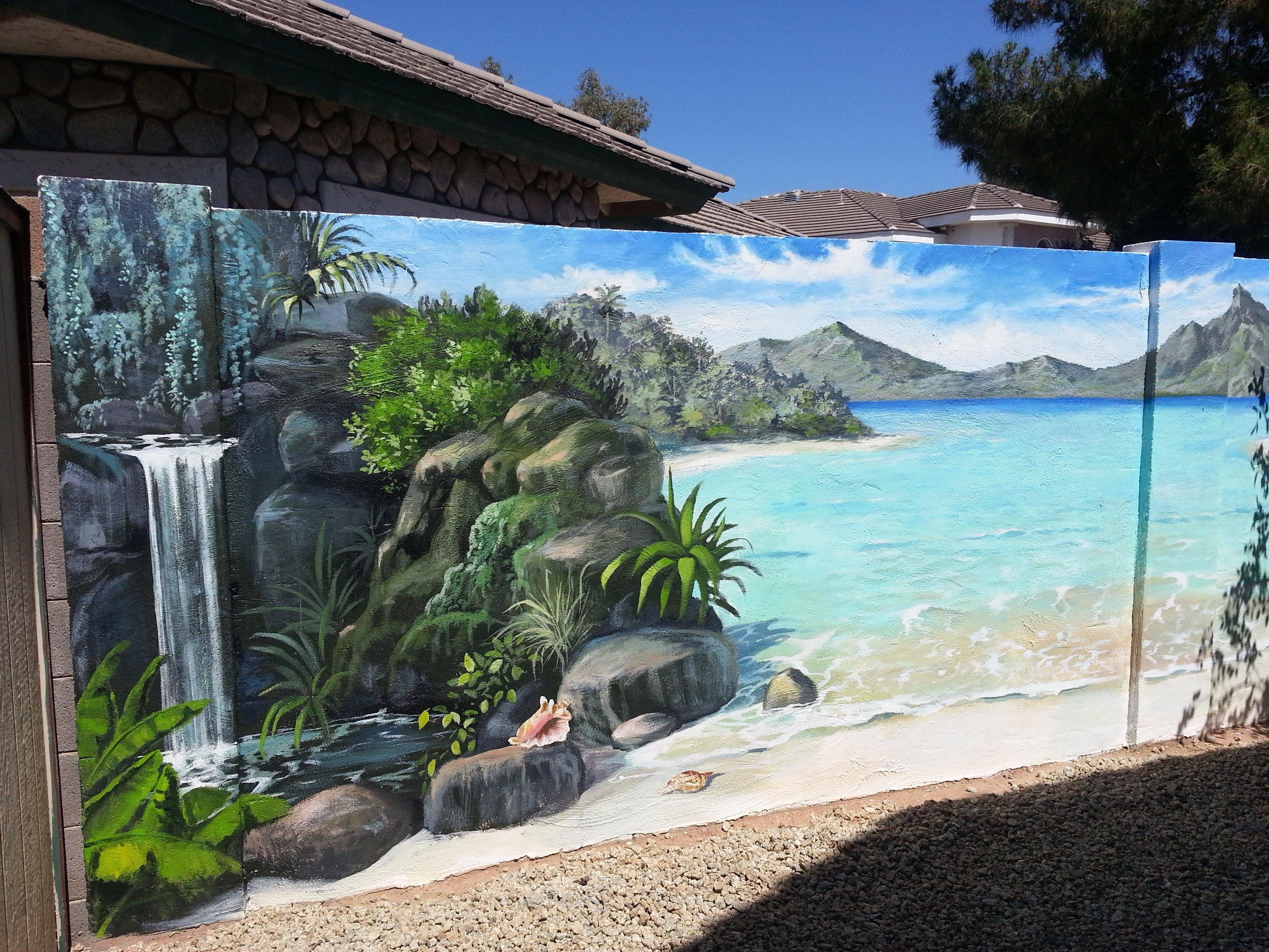 Arizona Block Wall Murals Gallery  I Love Murals by Gina