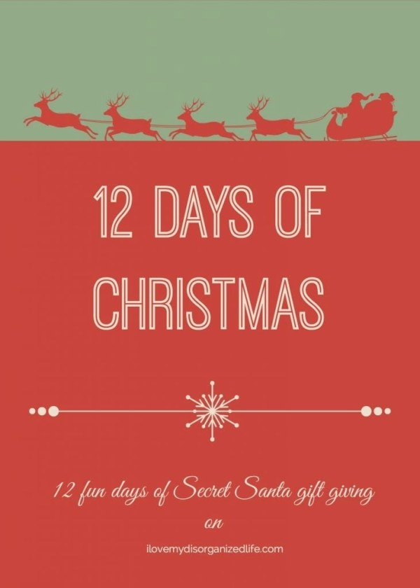 Twelve Days of Christmas Series 1 i love my