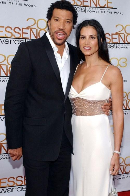 Lionel Richie and Diane Alexander Richie