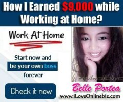 How I Earned $9,000 while Working at Home?
