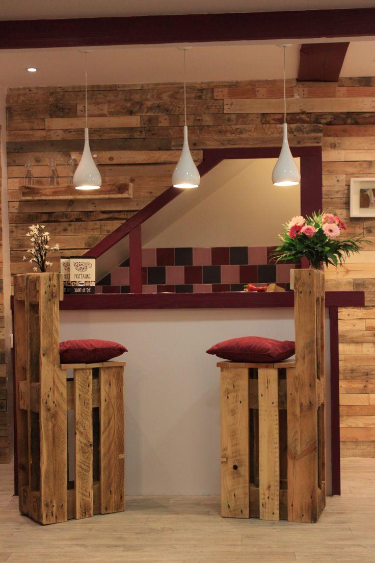5 ideas de sillas de bar de palets  I Love Palets
