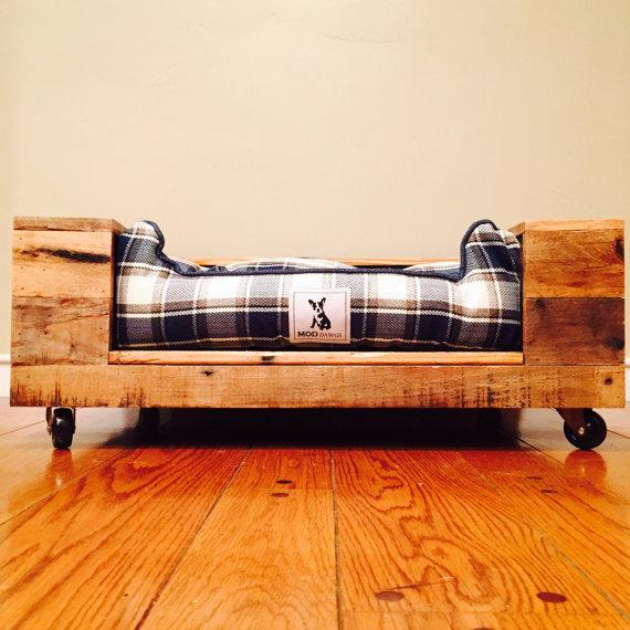 camas de palets para mascotas para toda la vida