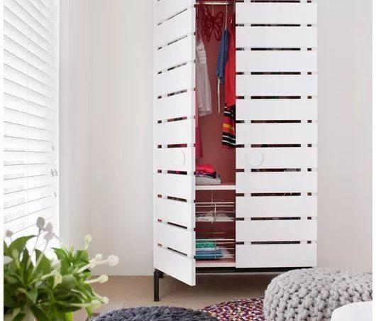 5 estilos de armarios de palets originales y muy creativos