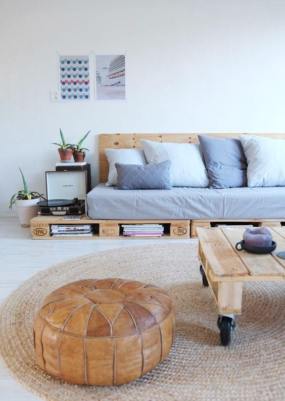 Ideas de futones con palets  I Love Palets