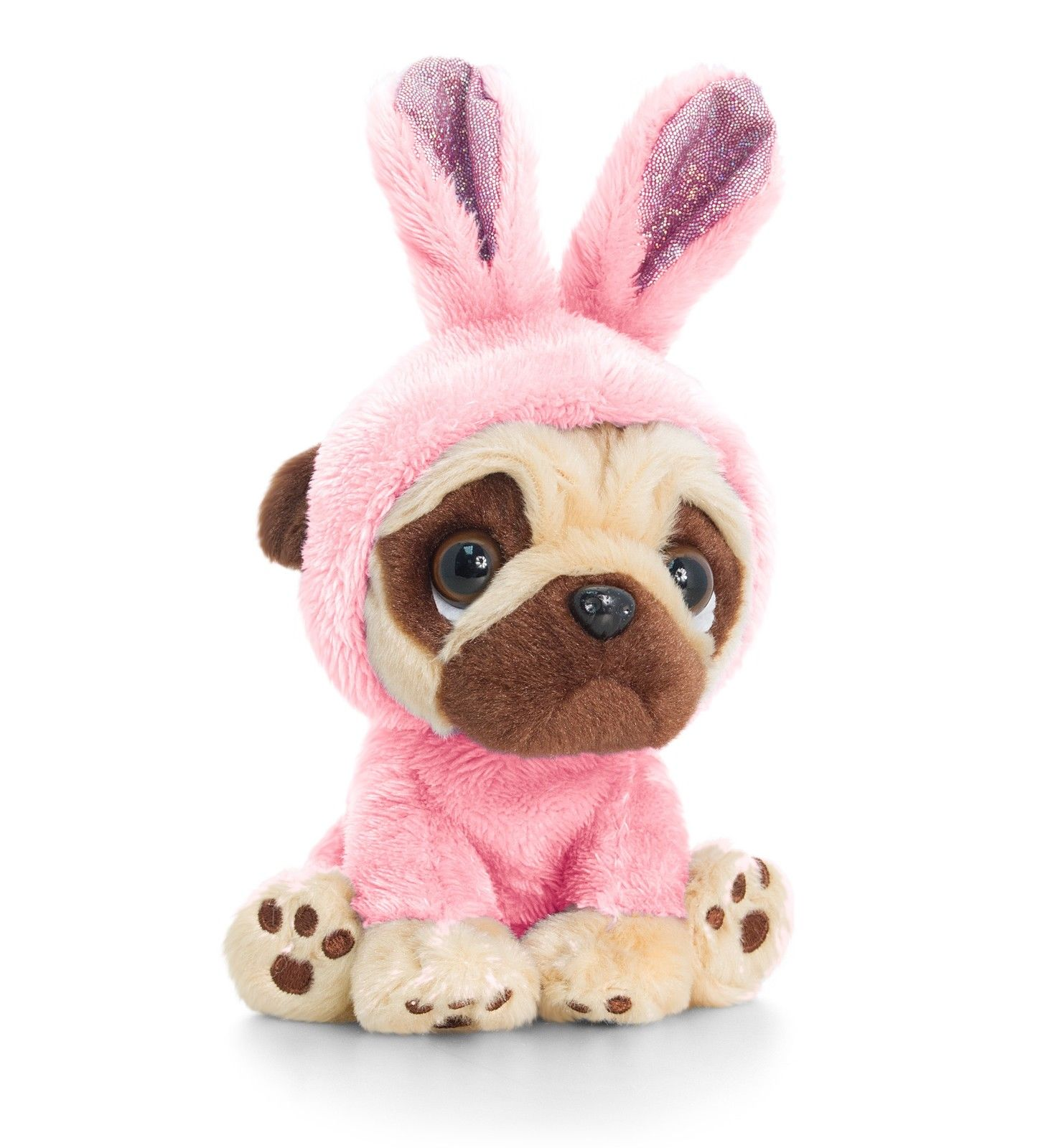 Baby Pink Pug Soft Toy