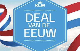 KLM Deal van de eeuw naar Rome