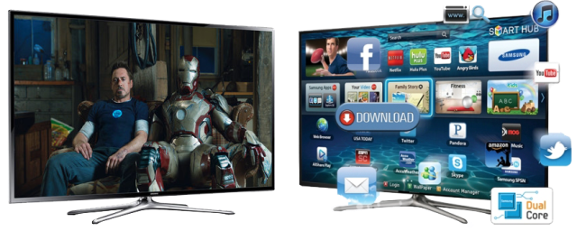 Samsung 40″F6400 3D Smart Tv -2-  ilovesamsung.ro
