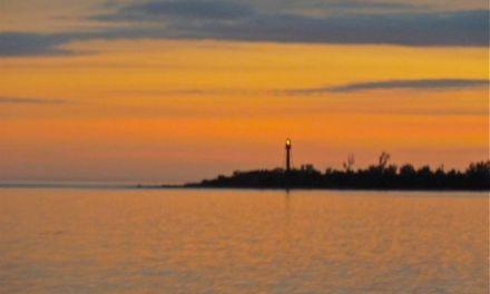 Sanibel Lighthouse With A Splash Of Color
