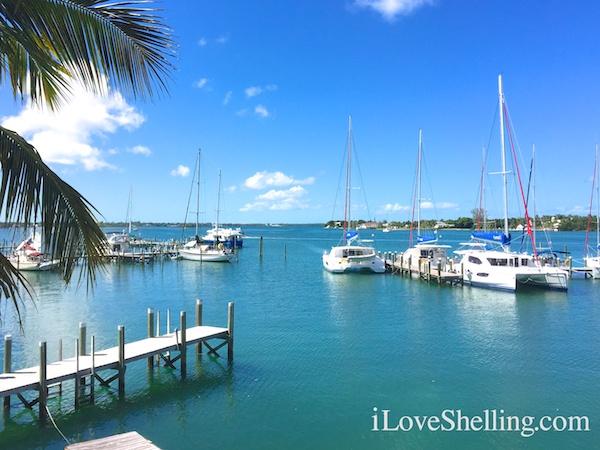 Sunsail marina in Marsh Harbor, Bahamas