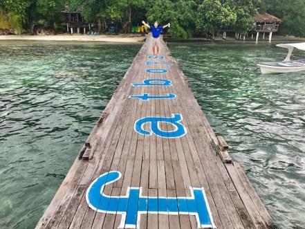 Fatboys Resort dock Solomon Islands