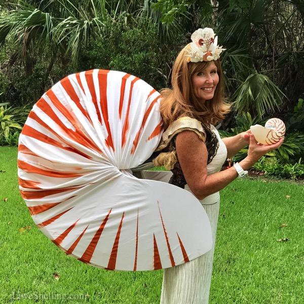 Nautilus Shell Queen Shelleopatra Pam Rambo