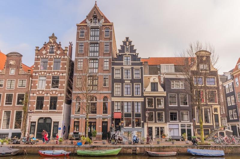 Beeldbank Amsterdam: Grachtenpanden aan de Herengracht in Amsterdam