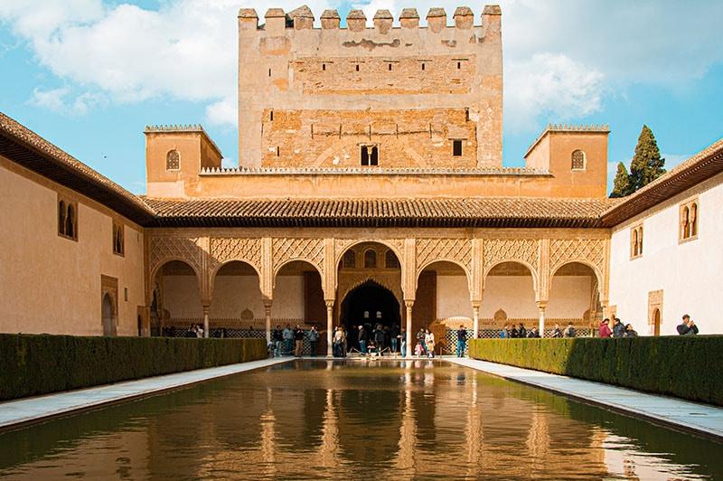 Patio de los Arrayanes, Alhambra Granada