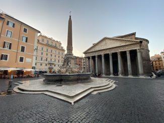 Pantheon aan het Piazza della Rotonda