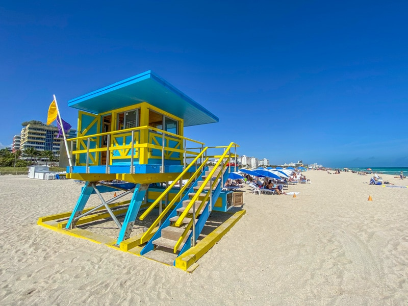 Miami Beach Lifefuard Tower