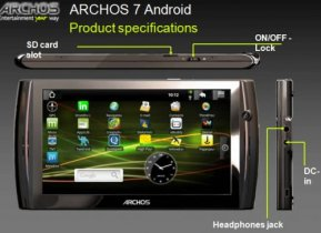 Archos - Archos 7 Home tablet 7