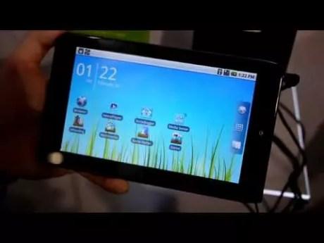 Acer Iconia Tab A100 : Fiche Technique complète 1