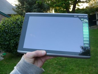 Test et Avis Acer Iconia Tab A500 2