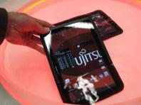 Fujitsu Arrows Tab : une tablette tactile waterproof 5