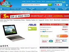 La Asus Eee Pad Prime en pré-commande chez RueDuCommerce.com 2