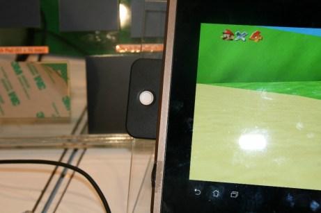 CES 2012 : Prototype ELAN Microelectronics propose un joystick pour tablette tactile Smart 3D force sensor 1