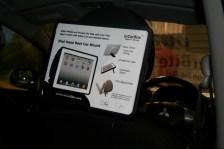 CES 2012 : Incarbite Car Mount,support voiture et speaker portable pour iPad 2 4