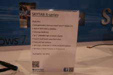 CES 2012 : Tablette Skytex SkyTab X series sous Windows 8 2