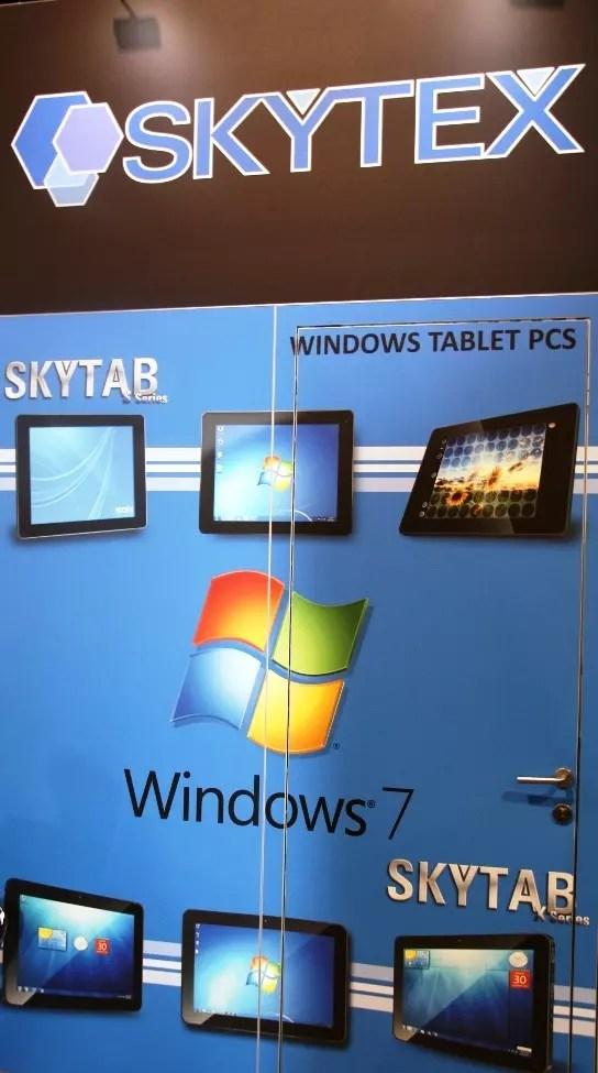 CES 2012 : Tablette Skytex SkyTab X series sous Windows 8 12