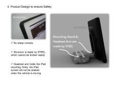 CES 2012 : Incarbite Car Mount,support voiture et speaker portable pour iPad 2 6