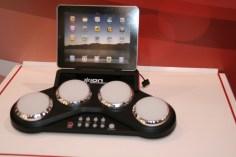 CES 2012 : Accessoire ION, apprenez la batterie avec le ION Drum apprendice et ION Drum Master 3