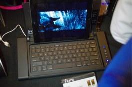 CES 2012 : Accessoire iHome IDM5, un dock / clavier pour tablette tactile avec port USB 2