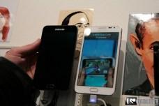 Prise en main de la Samsung Galaxy Note 5.3 en blanc au MWC 5