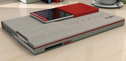 Concept Tablette tactile : Fujitsu détonne avec un nouveau prototype 4 en 1, le Fujitsu Lifebook 2