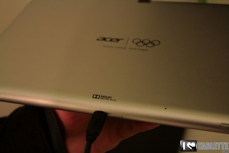 Acer Iconia Tab A510 : photos et caractéristiques de l'Iconia Tab A510 au MWC 1