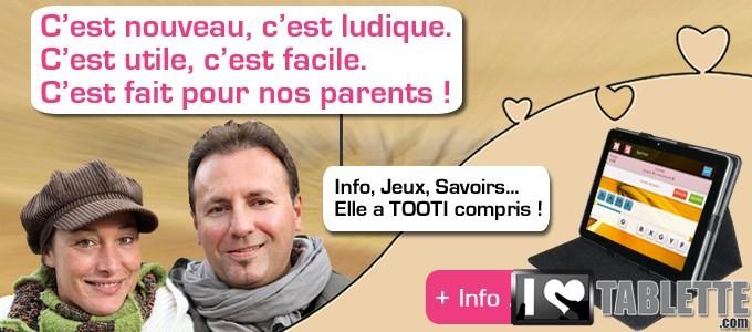 Tablette TOOTI Family : la tablette tactile pour les séniors qui connecte les générations entre elles ! 7