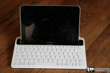 Dock clavier Bluetooth pour Samsung Galaxy Tab 8.9 [Test] 2