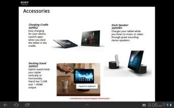 Une tablette Sony Xperia en préparation ? 6